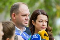 Кандидат от социалистов Чебан одержал победу на выборах мэра Кишинева