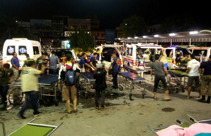 15 человек погибли в результате нападения на КПП в Таиланде
