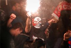 УЕФА не открывал дело после беспорядков с участием фанатов ЦСКА