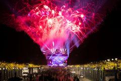 Десятки тысяч человек отпраздновали юбилей падения Берлинской стены
