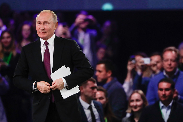 Путин понадеялся на помощь искусственного интеллекта в борьбе с бюрократической машиной