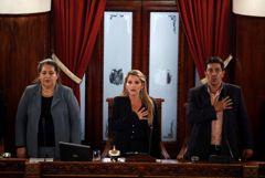 Полномочия временного президента Боливии взяла на себя сенатор Жанин Аньес