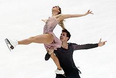 Фигуристы Синицина и Кацалапов заняли первое место в танцах на льду на этапе Гран-при