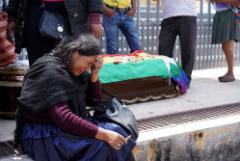 Число жертв столкновений в Боливии выросло до девяти