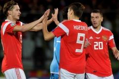 Сборная России крупно победила Сан-Марино