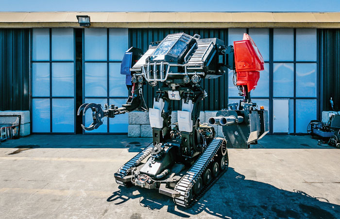 Путин велел увеличить количество боевых роботов и лазерного оружия