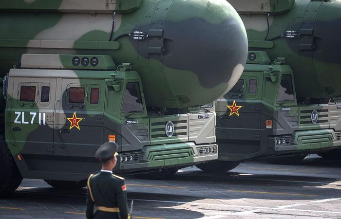 Китай испытал новейшую межконтинентальную баллистическую ракету