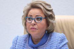 Матвиенко назвала сокращение населения главным вызовом России