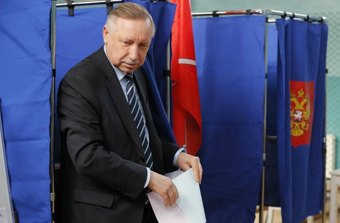 Беглов вышел в лидеры на выборах губернатора Петербурга