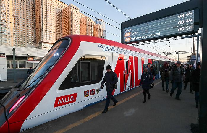 МЦД-1 перейдет на удлиненные поезда уже с понедельника