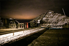 В МЧС объяснили, что мост в Оренбурге рухнул во время ремонта
