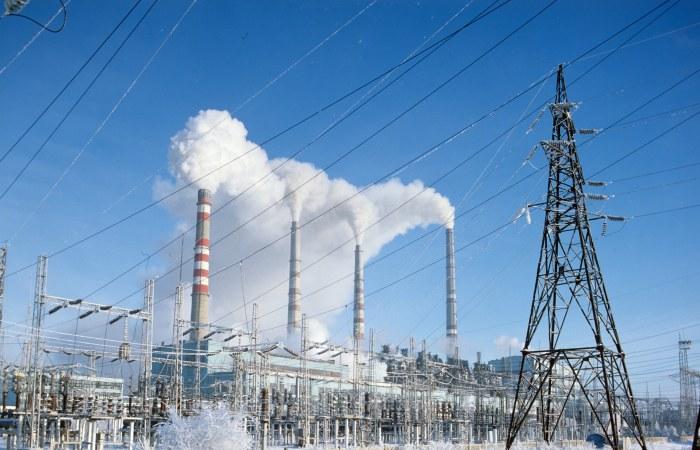 Произошел пожар на Троицкой ГРЭС под Челябинском