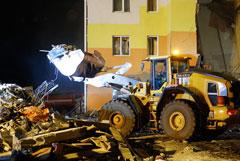 Пострадавший от взрыва газа дом в Белгородской области будет снесен