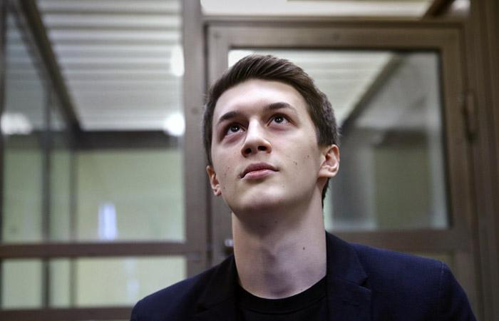Видеоблогер Егор Жуков в Кунцевском суде РФ