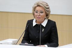 """Матвиенко призвала """"бить в набат"""" из-за катастрофы в российском семеноводстве"""