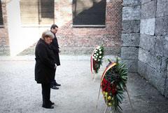 Меркель посетила Освенцим впервые за 14 лет на посту немецкого канцлера