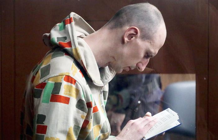 """Фигурант """"дела 27 июля"""" Павел Новиков в Тверском районном суде"""