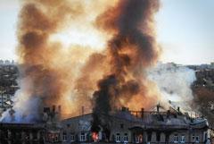 Число жертв пожара в Одесском колледже возросло до четырех