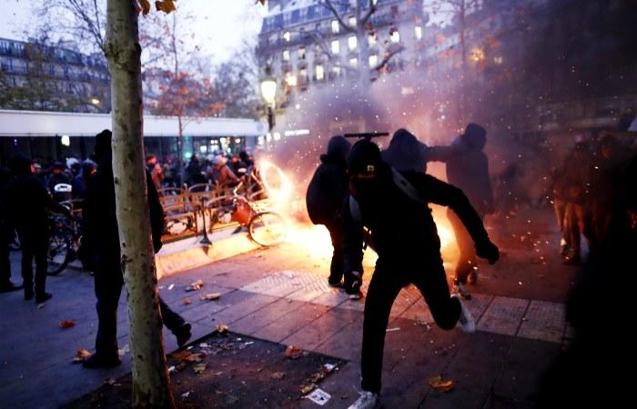 Протесты во Франции приобрели наибольший масштаб с 2010 года