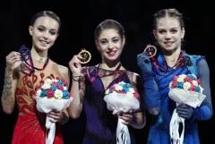 Российские фигуристки заняли весь пьедестал  в финале Гран-при