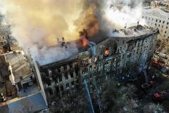 На Украине 8 декабря объявлен траур в связи с пожаром в Одесском колледже