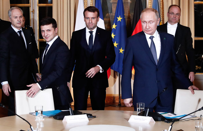 В Париже начался нормандский саммит