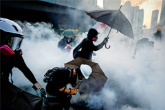 "Тайвань пообещал помочь желающим покинуть Гонконг ""из-за царящего там насилия"""