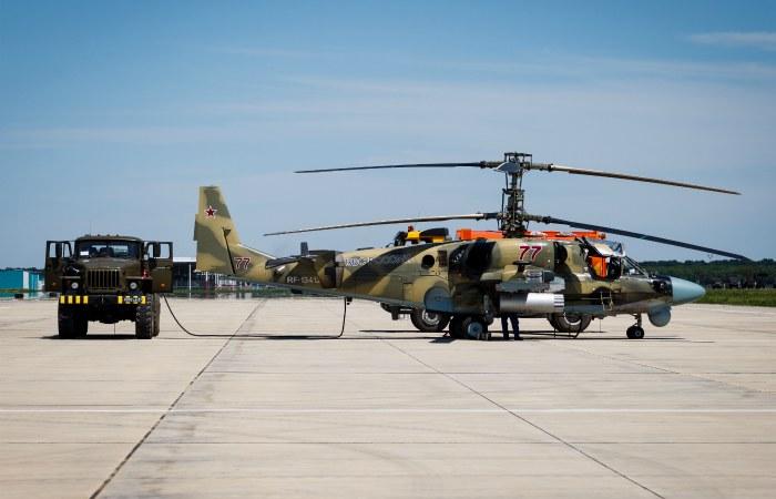 ВКраснодарском крае потерпел крушение ударный вертолёт Ми-28