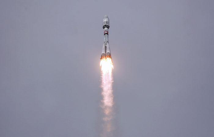 """Ракета """"Союз"""" стартовала с Плесецка с навигационным спутником """"ГЛОНАСС-М"""""""