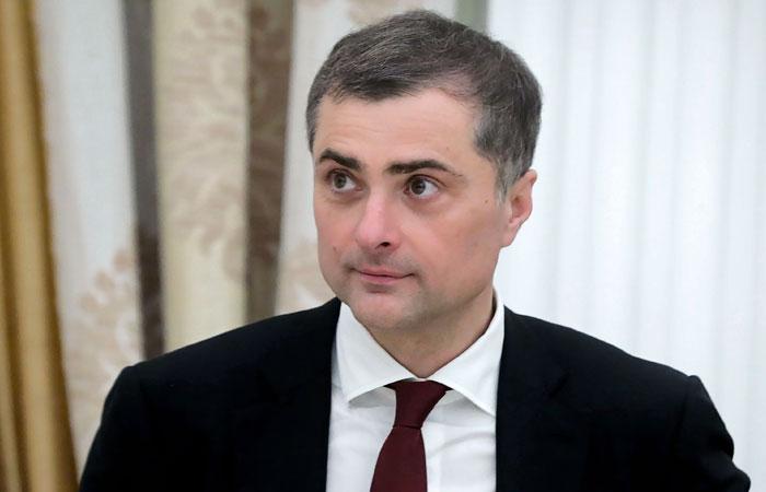 Сурков назвал фантазиями высказывания главы МВД Украины в свой адрес