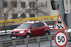 Дума в I чтении одобрила запрет штрафовать водителей за превышение средней скорости