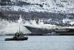 """Пожар на крейсере """"Адмирал Кузнецов"""". Что известно на данный момент"""