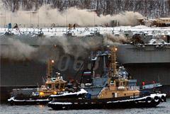 """Источник сообщил о троих пропавших на """"Адмирале Кузнецове"""""""