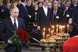 Президент РФ Владимир Путин на церемонии прощания