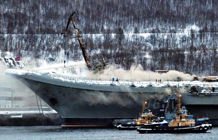 "Спасатели нашли тело второго погибшего на ""Адмирале Кузнецове"""
