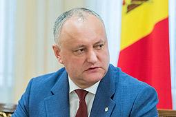 Игорь Додон: Если выберем одну сторону, половина молдавского общества посчитает себя преданными
