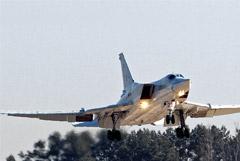 Бомбардировщик Ту-22М3 сел на грунт под Астраханью с отказавшим двигателем