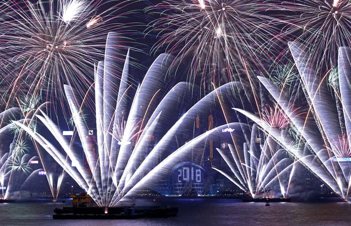 В Гонконге из-за протестов впервые за десять лет отменили новогодние фейерверки