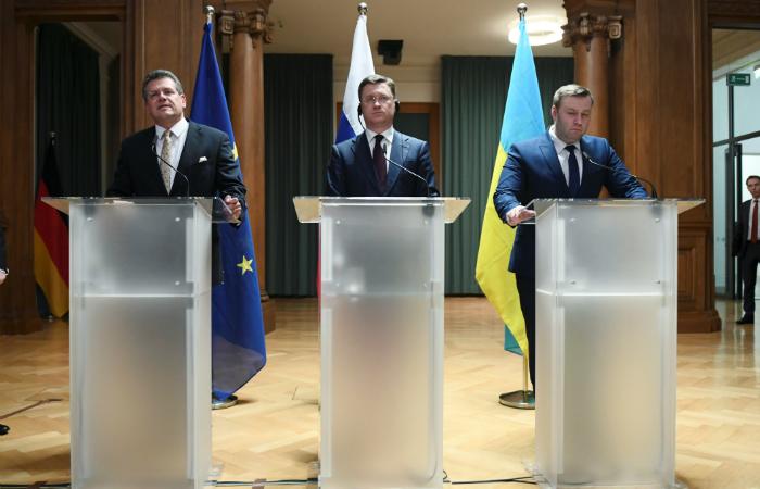 Россия и Украина достигли принципиального соглашения по транзиту газа