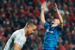 Дзюба вновь стал футболистом года по версии РФС