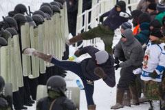 Организаторов полицейских учений с участием школьников уволили из МВД