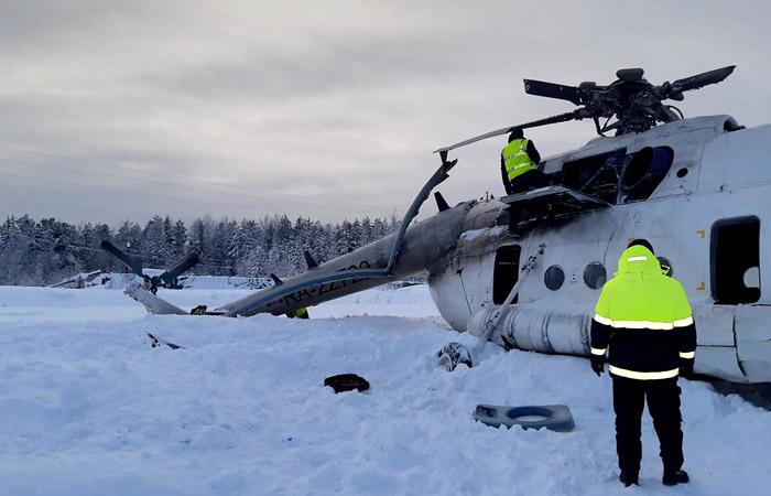 В Минтрансе Красноярского края прокомментировали аварию Ми-8