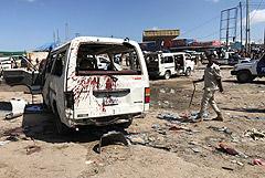 Более 90 человек погибли при взрыве заминированной машины в Сомали