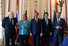Kyodo узнало о дискуссии по возвращению РФ в G8 на саммите в Биаррице