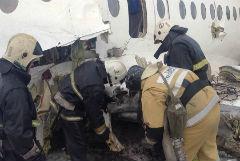 В Казахстане наградили пассажира рухнувшего под Алма-Атой самолета