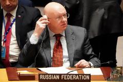 Небензя объяснил блокировку заявления СБ ООН с осуждением атаки на посольство США в Ираке