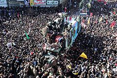 В Иране в давке на похоронах Сулеймани погибли 35 человек