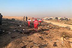Власти Ирана заявили о гибели 176 человек при падении Boeing