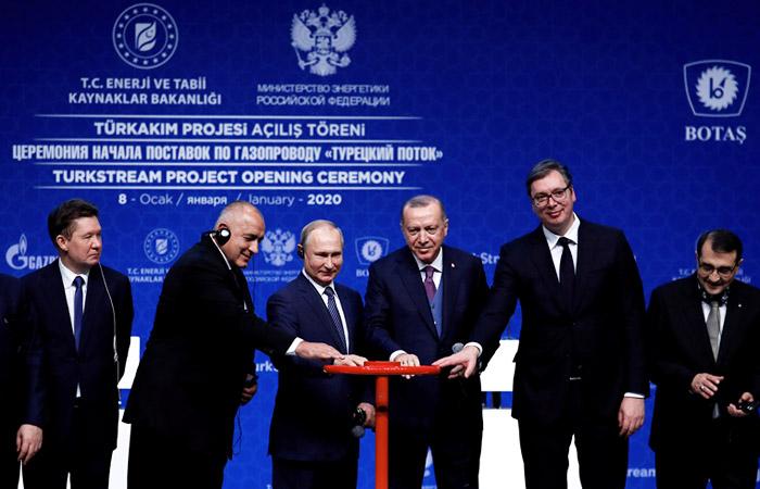 """На Украине оценили потерю доходов от пуска """"Турецкого потока"""" в $450 млн в год"""