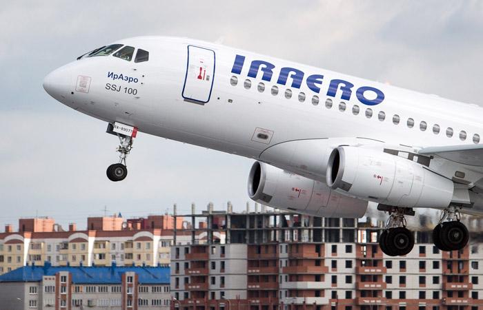 """""""ИрАэро"""" потребовала от производителя SSJ-100 возместить 1,9 млрд руб. убытков"""